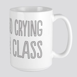 No Crying In Large Mug