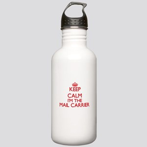 Keep calm I'm the Mail Stainless Water Bottle 1.0L