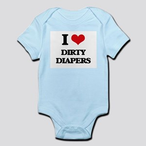 dirty diapers Body Suit