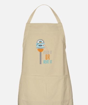 Feed It Or Beat It Apron