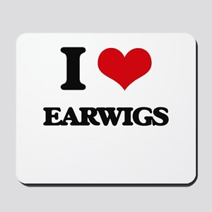 earwigs Mousepad