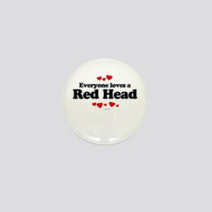 Everyone loves a Red Head Mini Button