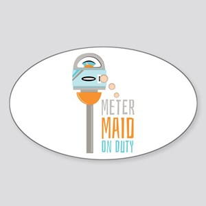Maid On Duty Sticker