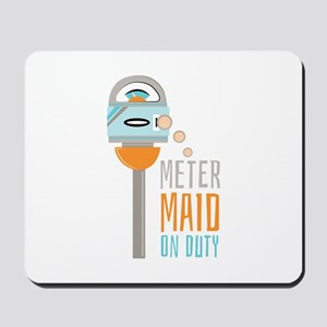 Maid On Duty Mousepad