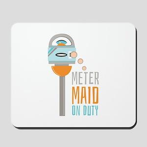 Maid On Duty Mousepad