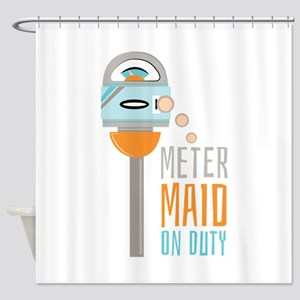 Maid On Duty Shower Curtain