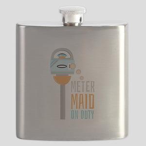 Maid On Duty Flask