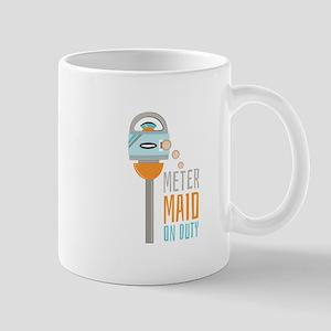 Maid On Duty Mugs