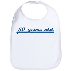 50 years old (sport-blue) Bib
