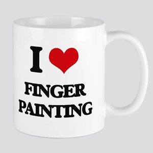finger painting Mugs