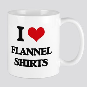 flannel shirts Mugs