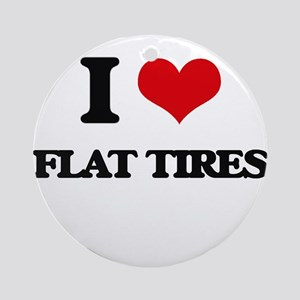 flat tires Ornament (Round)