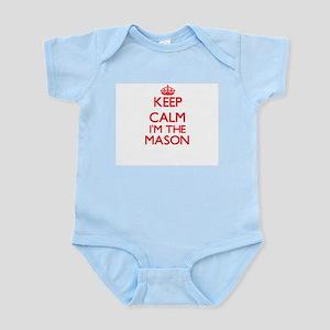 Keep calm I'm the Mason Body Suit