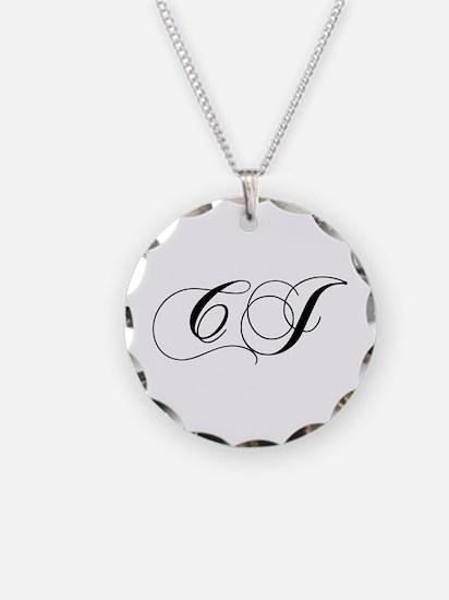 CJ-cho black Necklace