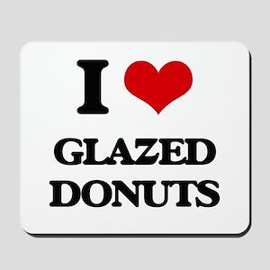 glazed donuts Mousepad