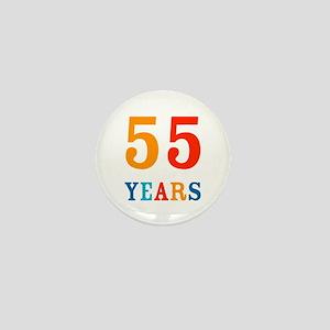 55 Years! Mini Button