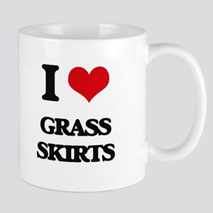 grass skirts Mugs