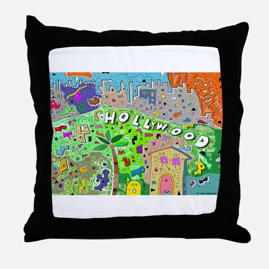Rectangle Hollywood Hills Throw Pillow