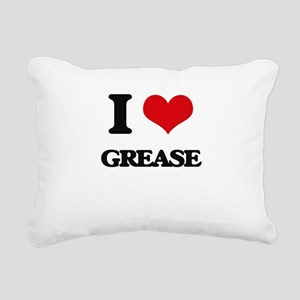 grease Rectangular Canvas Pillow