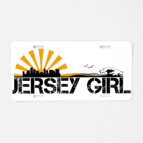Jersey Girl Aluminum License Plate