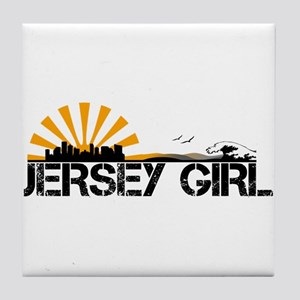 Jersey Girl Tile Coaster