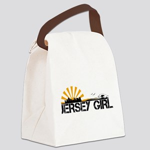Jersey Girl Canvas Lunch Bag