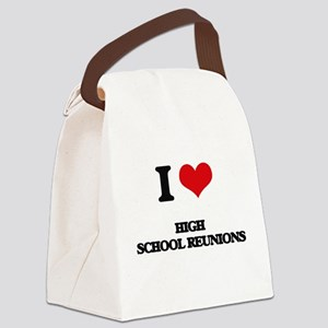 high school reunions Canvas Lunch Bag
