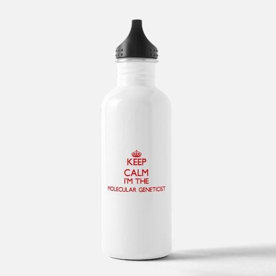 Keep calm I'm the Mole Water Bottle