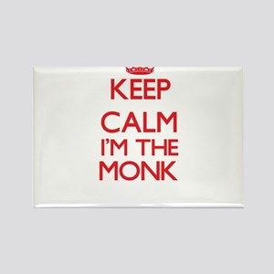 Keep calm I'm the Monk Magnets