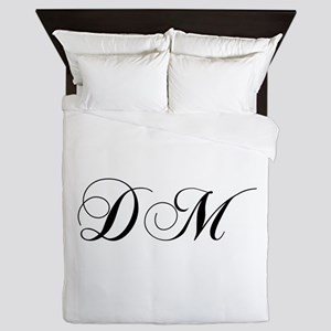 DM-cho black Queen Duvet