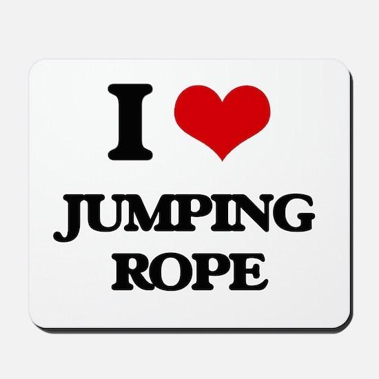 jumping rope Mousepad