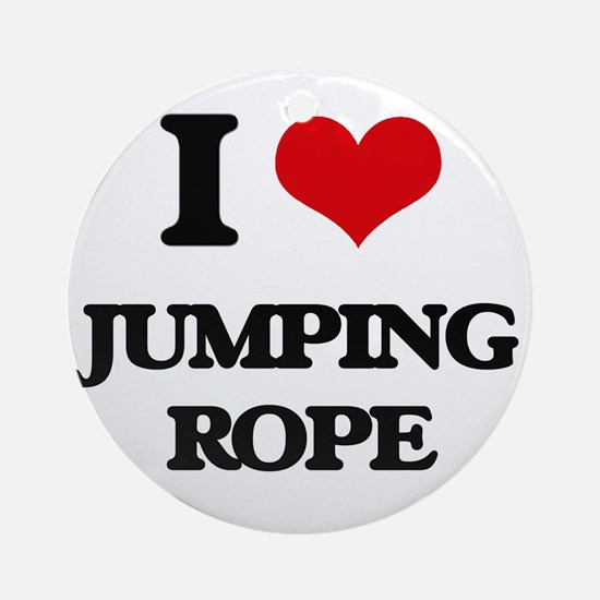 jumping rope Ornament (Round)