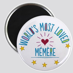 World's Most Loved Memere Magnets