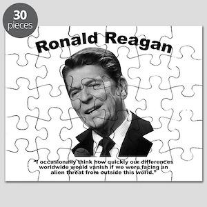Reagan: Aliens Puzzle