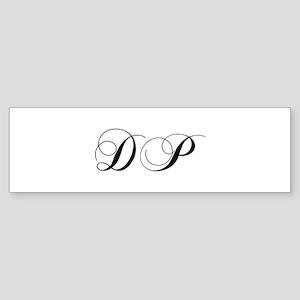 DP-cho black Bumper Sticker
