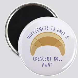 Crescent Happiness Magnets