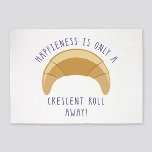 Crescent Happiness 5'x7'Area Rug