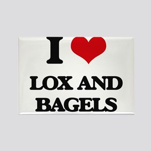 lox and bagels Magnets