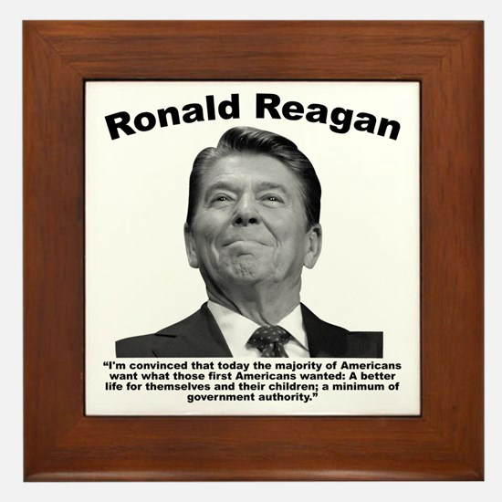 Reagan: BetterLife Framed Tile