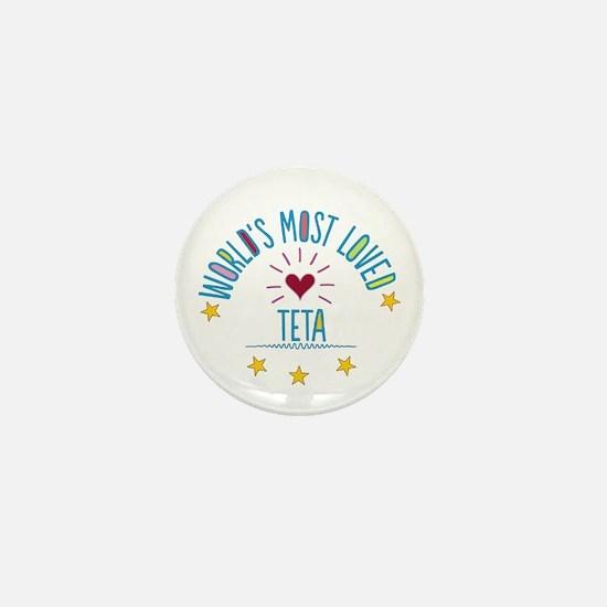 World's Most Loved Teta Mini Button