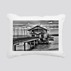 Boathouse 6 Rectangular Canvas Pillow