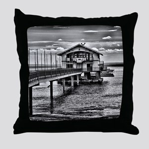 Boathouse 6 Throw Pillow