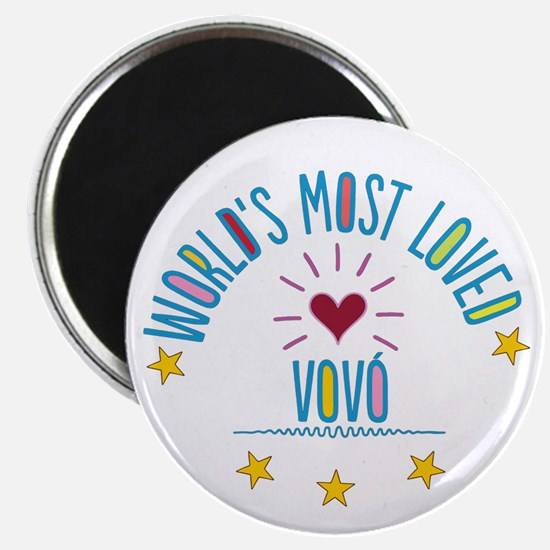 World's Most Loved Vovo Magnets