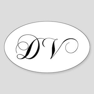 DV-cho black Sticker