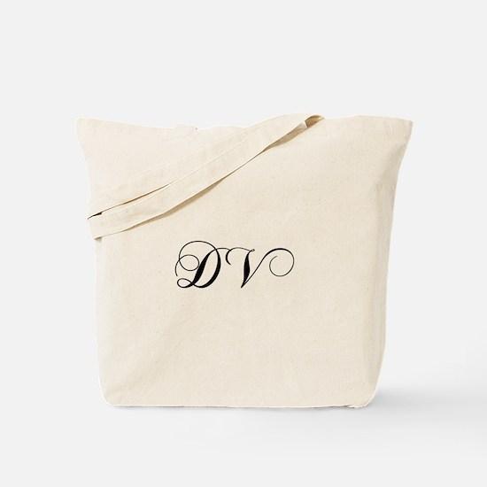DV-cho black Tote Bag