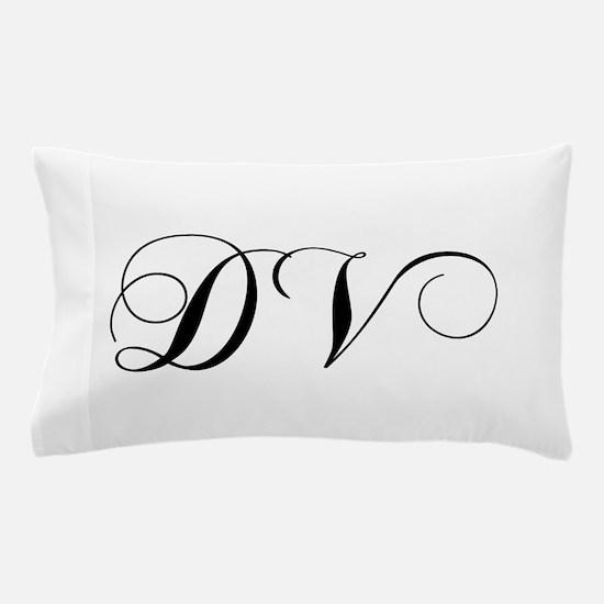 DV-cho black Pillow Case