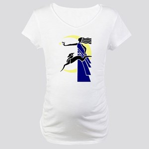 Diana or Artemis, Goddess of the Maternity T-Shirt