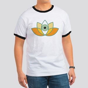 shamanistic 3rd eye lotus T-Shirt