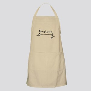 Queen Anne Boleyn of England Signature Autog Apron