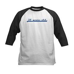 38 years old (sport-blue) Kids Baseball Jersey